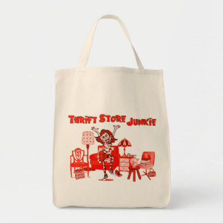 Thrift Store Junkie Tote Bag