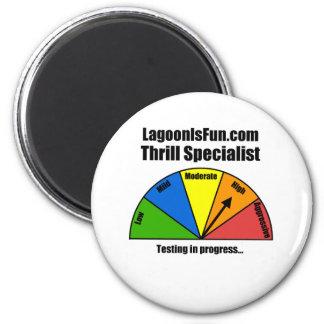 Thrill Specialist 6 Cm Round Magnet