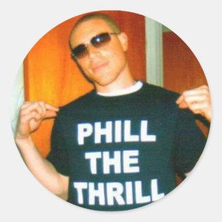 Thrill Stickers