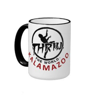 Thrill The World Kalamazoo Cup Ringer Mug