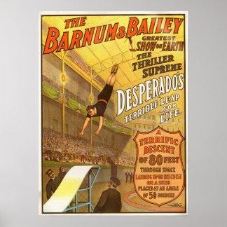 Thriller Supreme Desperado Circus Poster