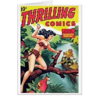 """Thrilling Comics #67"" Card"