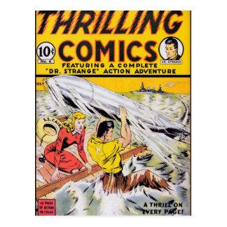 Thrilling Comics #6 Postcard