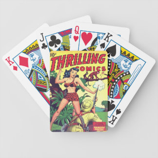 Thrilling Comics Playing Cards