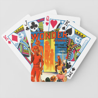 Thrilling Wonder Stories -- Future Westpoint Bicycle Playing Cards