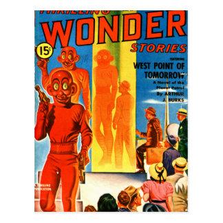 Thrilling Wonder Stories -- Future Westpoint Postcard