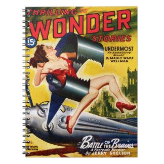 Thrilling Wonder Stories - Undermost Notebook