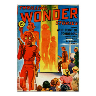 Thrilling Wonder Stories -- West Point of Tomorrow Poster