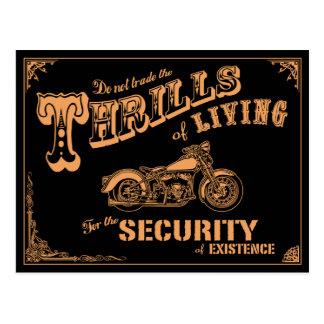 Thrills of Living II Postcard
