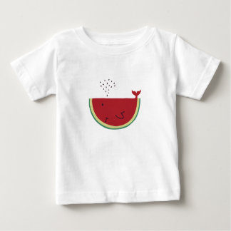 Thristy Whale Baby T-Shirt