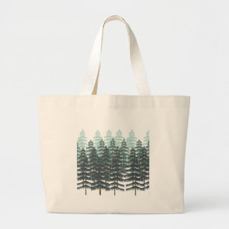 THRIVE IN FOREST LARGE TOTE BAG