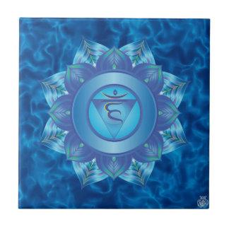 Throat Chakra Ceramic Tile