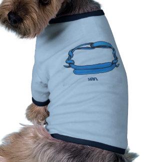 Throat Chakra Doggie Tee Shirt