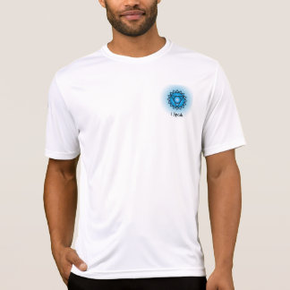 Throat Chakra Mens Performance Micro-Fiber T-Shirt