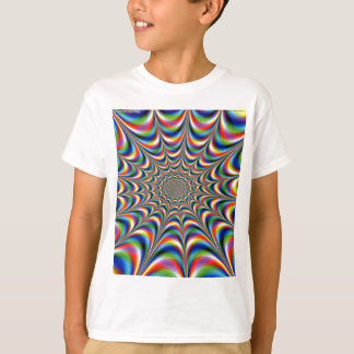 throbbing-fractal-optical illusion T-Shirt