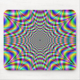 throbbing - optical illusion mouse pad