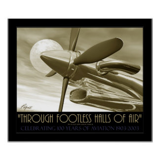 Through Footless Halls Of Air Poster