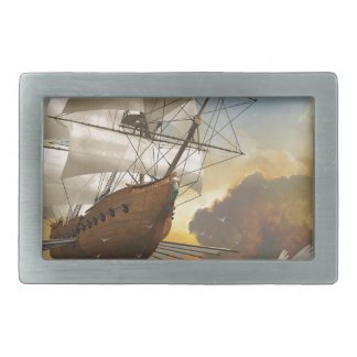 Through the Clouds Belt Buckles