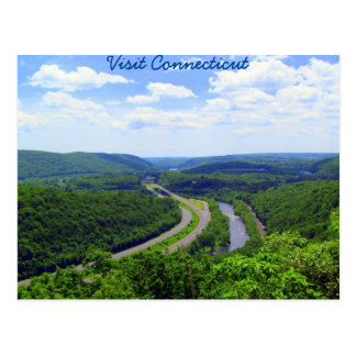 Through The Connecticut Valley Postcard