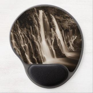 Through the Cracks Burney Falls Gel Mouse Pad