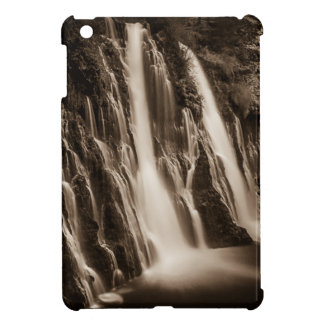 Through the Cracks Burney Falls iPad Mini Covers