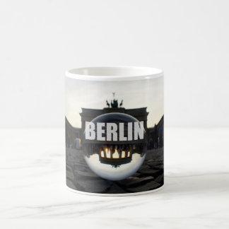 Through the crystal ball 002.04, Brandenburg gate Coffee Mug