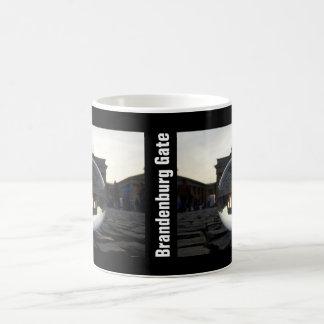 Through the crystal ball 002.5.5, Brandenburg Gate Coffee Mug