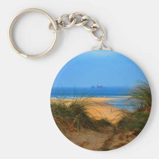 Through the Dunes Key Ring