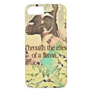 Through the eyes of a llama... iPhone 7 case