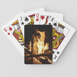 Through the Flames Poker Deck
