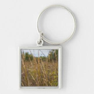 Through The Grass Tops Key Ring