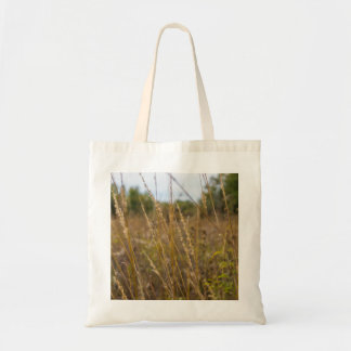 Through The Grass Tops Tote Bag