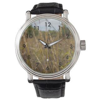 Through The Grass Tops Watch
