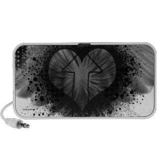 Through The Heart Portable Speaker