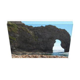 Through the hole gallery wrapped canvas