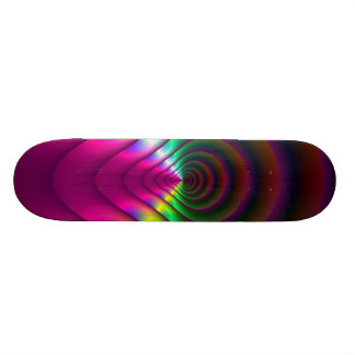 Through the Keyhole Skateboard