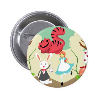 Through The Looking Glass 6 Cm Round Badge