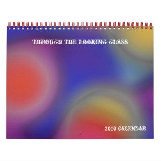 through the looking glass,... calendar