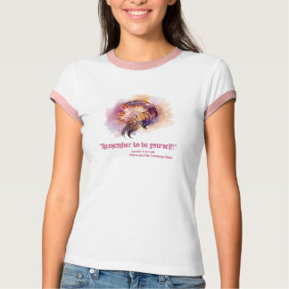 Through the Looking Glass Carroll Quote Shirt