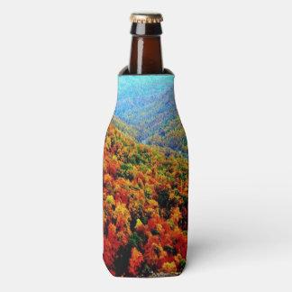 Through The Mountains Bottle Cooler