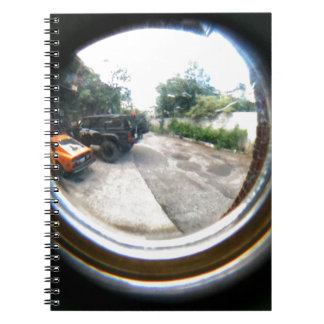 Through The Peephole Notebook