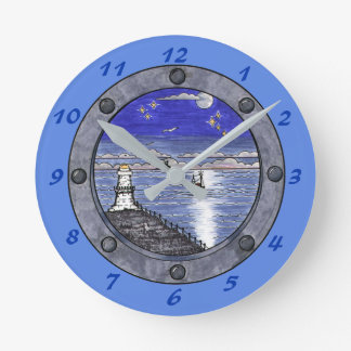 Through the Porthole Wall Clock