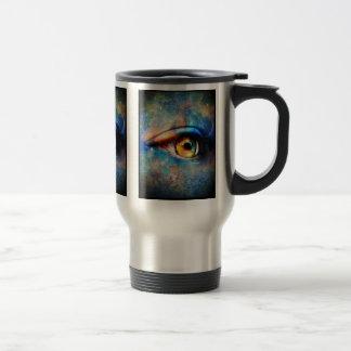 Through the Time Travelers Eye 15 Oz Stainless Steel Travel Mug