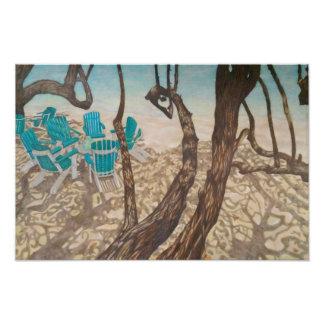 """""""Through the Trees, St John"""" Photo Print"""