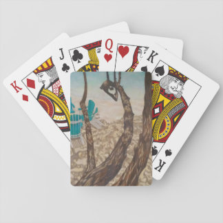 """Through the Trees, St John"" Playing Cards"
