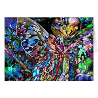 Through the Wings of a Butterfly Greeting Card