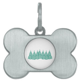 Through the Woods Pet ID Tag
