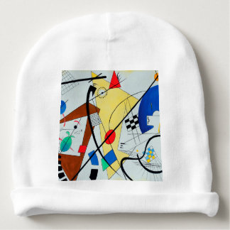 Throughgoing Line by Wassily Kandinsky Baby Beanie