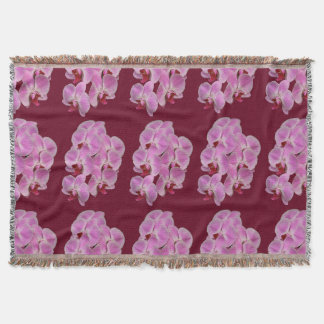 Throw Blanket - Orchid