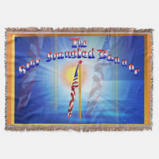 Throw Blanket The Star Spangled Banner